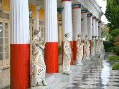 13_Sculptured-Greek-influenced-figures-on-the-grounds-of-the-Achillion-Palace-on-the-island-of-Corfu.