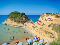 50_People-at-the-Canal-d-amour-beach-on-Corfu-island,-Greece